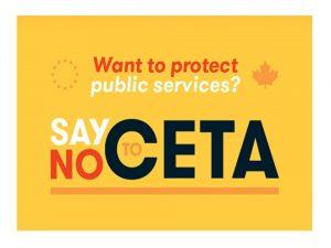 El CETA en vigor nefasto trabajadores