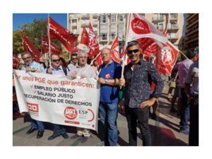 Movilizaciones AGE Ceuta salarios dignos