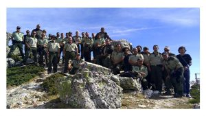 Agentes cumplen 140 años y celebran Patrón Forestal
