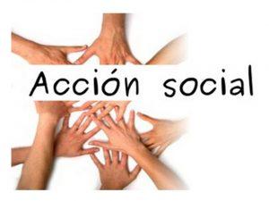 Anuncio publicación listas definitivas Acción Social