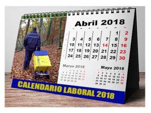 Comisión Tiempo Trabajo Calendario Laboral 2018