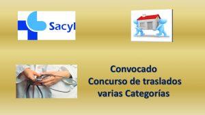 Convocatoria Concurso Traslados varias categorías dic-2017
