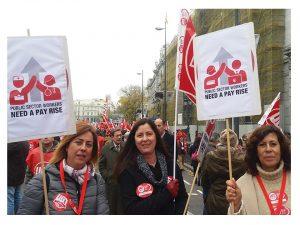 empleados públicos mismos salarios que 2008