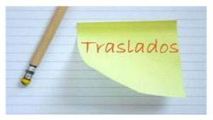 Concurso Traslados 2017 Listado adjudicaciones