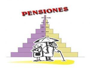 Tabla pensiones Régimen General y MUFACE
