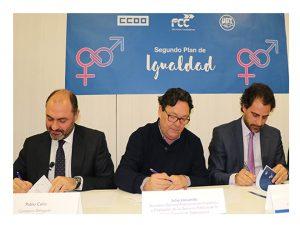 firmado II Plan Igualdad de FCC