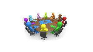 Reunión Directora y el Secretario Gral IMSERSO