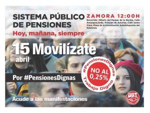 Cartel UGT 15 abril-pensiones_ZAMORA
