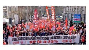 ciudadanía reclama calles PensionesDignas