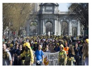 Madrid reclama categoría Bombera Forestal