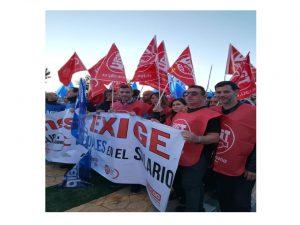 concentrados Sevilla II Villena y Badajoz