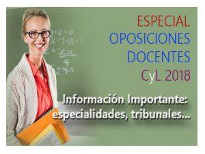 Oposiciones 2018 Secundaria y Otros Cuentas Twitter