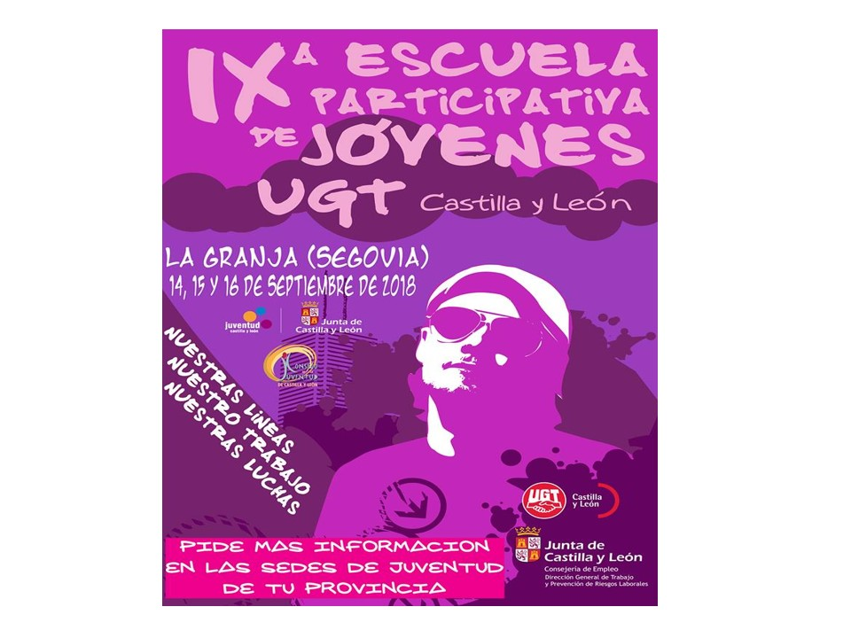 IX Escuela participativa jóvenes UGT CYL