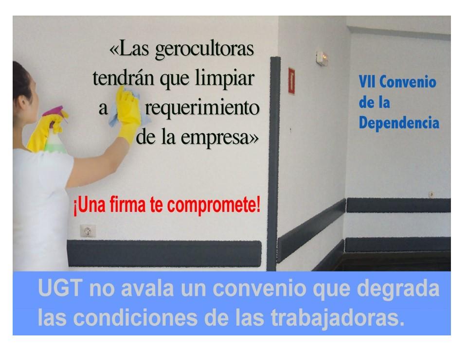 UGT Informa Convenio dependencia
