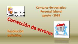 errores resolucion def laborales ago-2018