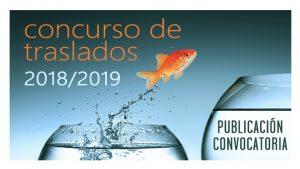 Concurso traslados Convocatoria 2018-2019