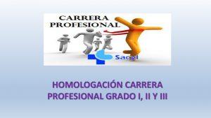 homologación carrera profesional I II y III jul-2018