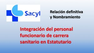 nombramiento Integración en Estatutario