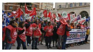 Concentraciones protesta difícil situación IIPP