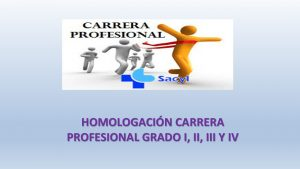 homologación carrera profesional I II, III Y IV nov-2018