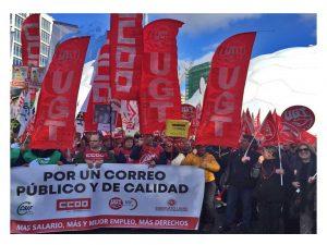 movilizaciones trabajadores Correos