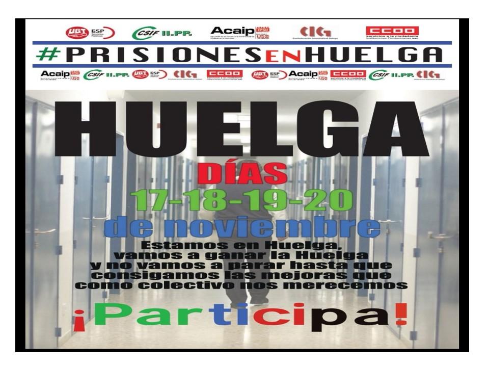 próximas jornadas Huelga General