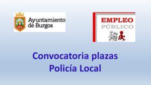 convocatoria policia local dic-2018