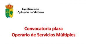 Ayto Quiruelas plaza operario feb-2019