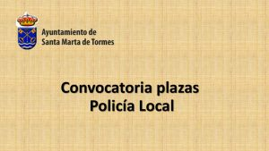 Ayto Santa marta tormes policia feb-2019