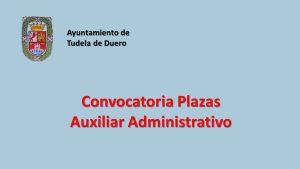 Ayto Tudela plaza aux admvo feb-2019