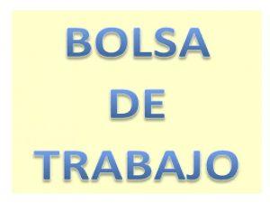 Bolsa trabajo Asturias cuerpos generales