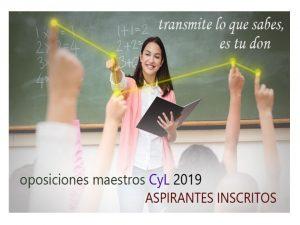 OPE Maestros 2019 Inscritos 12.602 cyl
