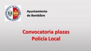 Ayto Bembibre Policia