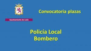 Ayto Leon policia bombero