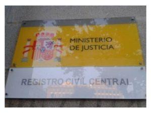 nuevo golpe al Registro Civil Central