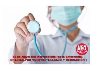 sindicato Enfermería UGT reivindica profesión Día