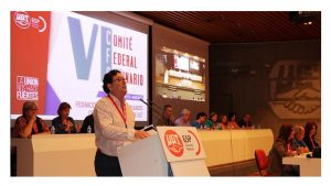 VI Comité Federal Ordinario fortalecer servicios públicos