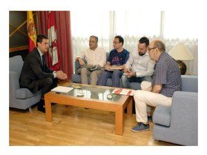 Reunión UGT Consejero Presidencia