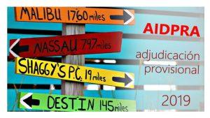 AIDPRA 2019 Adjudicación prov