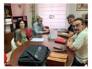 Reunión portavoz Medio ambiente PSOE