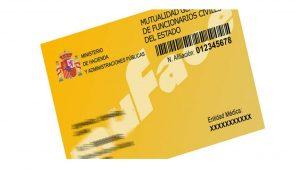 Elección entidad sanitaria nuevos mutualistas MUFACE