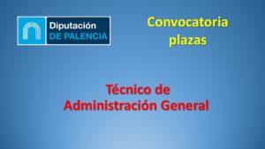 Diputac Palencia Tecnico adm gral mar-2020