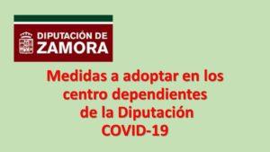Medidas coronavirus. centros