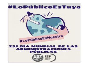 23 J Día Mundial Administraciones Públicas