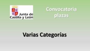 Convocatoria varias categorias jul-2020