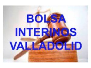 Actualización Bolsa Interinos Valladolid