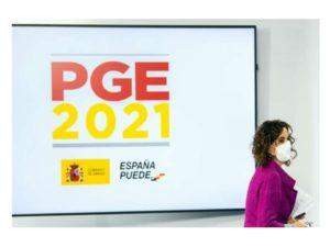 Publicados PGE-2021 retribuciones 0,9