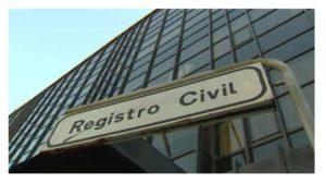 modelo Registro Civil garantiza destinos funcionario