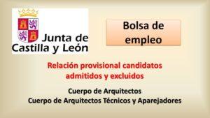 Bolsa Cuerpo arquitecto y tecnicos candidatos prov feb-2021