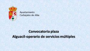 Ayto Carbajales alguacil mar-2021